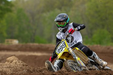 Ashton Hayes practicing for Loretta Lynns at Martin MX Park