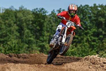 Cole Harkins practicing at Martin MX Park on 6/6/2015