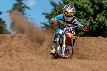 Jayce Sabyan #510 KTM mini rider at Martin MX Park