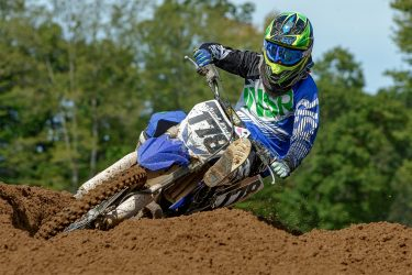 Motocross rider Joel Frith at Martin MX Park
