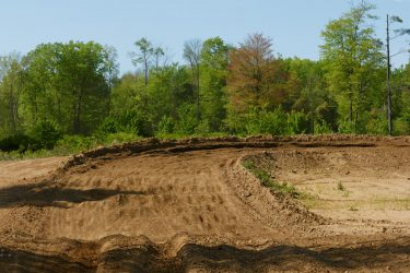 Big breaking bumps going into the sweeper corner at Martin MX Park